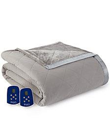 Shavel Micro Flannel® to Ultra Velvet® King Electric Comforter/Blanket