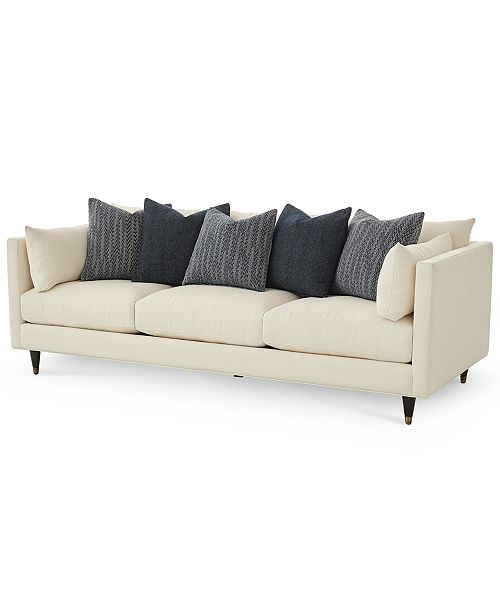 "Furniture Bostal 98"" Fabric Estate Sofa, Created for Macy's"