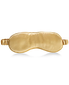 Silken Slumber Solid Silk Eye Mask