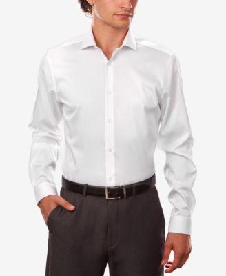 Calvin klein shirt dress white