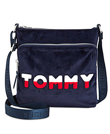 Tommy Hilfiger Tommy Velvet North/South Crossbody