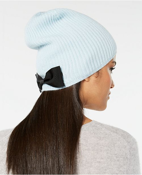 074bda923e9d7 kate spade new york Grosgrain-Bow Beanie   Reviews - Handbags ...
