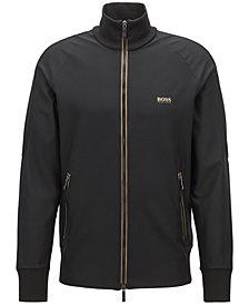 BOSS Men's Slim-Fit Full-Zip Sweatshirt