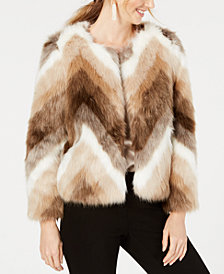 Alfani Faux-Fur Jacket, Created for Macy's