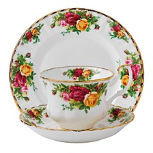 Old Country Roses 3-Piece Set