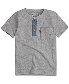 Levi's® Little Boys Cotton Henley