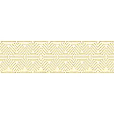 Tempaper Triangles Self-Adhesive Borders