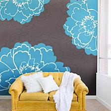 Deny Designs Caroline Okun Autumn Peony Wall Mural