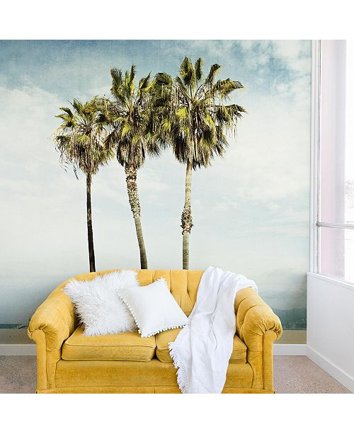 Deny Designs Bree Madden Venice Beach Palms 12'x8' Wall Mural