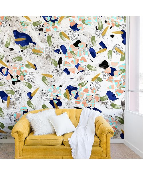 Deny Designs Marta Barragan Camarasa Abstract Shapes II 8'x8' Wall Mural