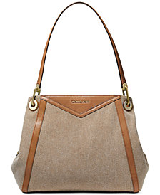MICHAEL Michael Kors Raven Pocket Shoulder Tote