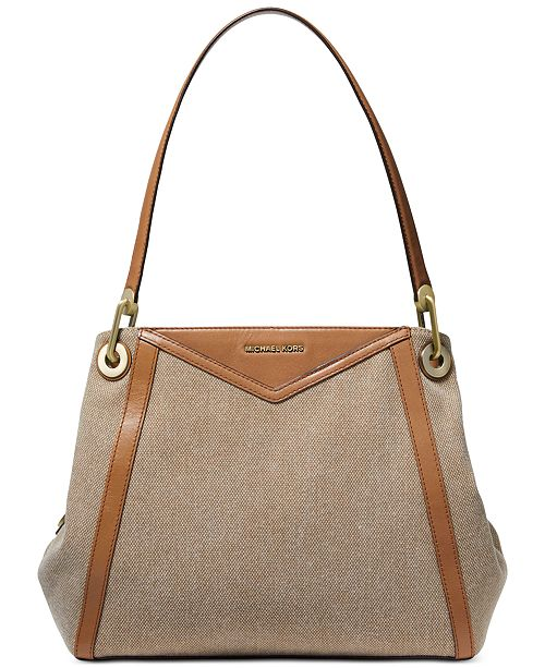 Michael Kors Raven Pocket Shoulder Tote