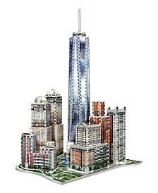 Wrebbit - 3D New York World Trade 3D Puzzle, 875 Pieces