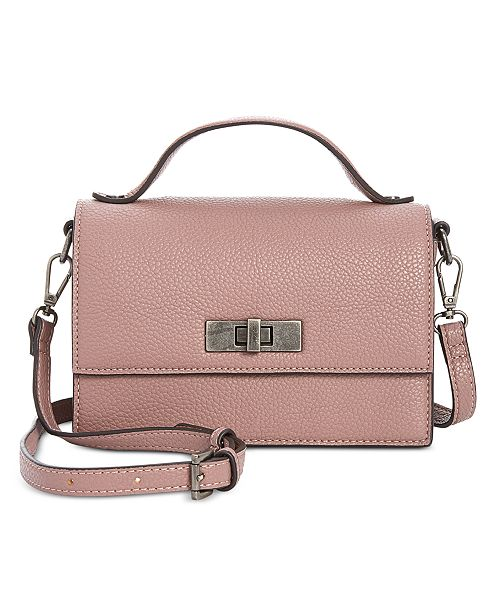 894bd72bf07 Steve Madden Basic Pebbled Top-Handle Crossbody & Reviews ...