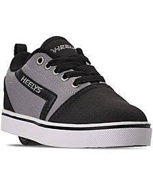 Heelys Boys' GR8 Pro Wheeled Skate Casual Sneakers from Finish Line