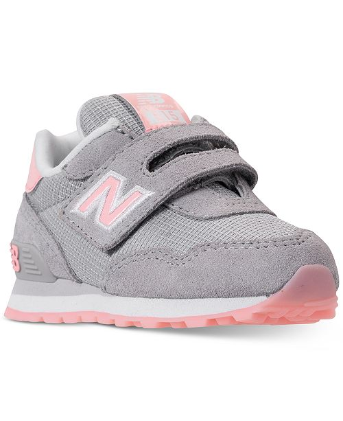 New Balance Toddler Girls' 515 Casual Sneakers from Finish