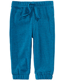 First Impressions Baby Boys Marled Jogger Pants, Created for Macy's