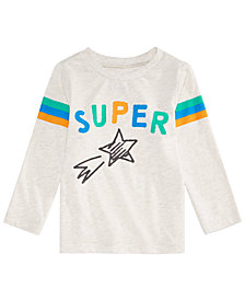 First Impressions Baby Boys Star Power Graphic T-Shirt, Created for Macy's