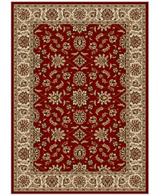 """CLOSEOUT!! Pesaro Meshed Red 7'9"""" x 11' Area Rug"""