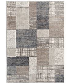 "KM Home Waterside Pier Multi 3'3"" x 5'3"" Area Rug"