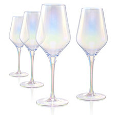 Artland Set of 4 16oz. Luster Purple Goblets