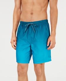 "Calvin Klein Men's Gradient 7"" Volley Swim Trunks, Created for Macy's"