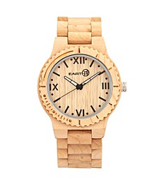 Bighorn Wood Bracelet Watch Khaki 46Mm
