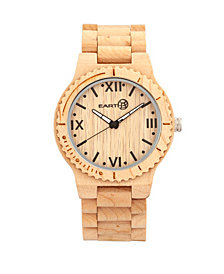 Earth Wood Bighorn Wood Bracelet Watch Khaki 46Mm