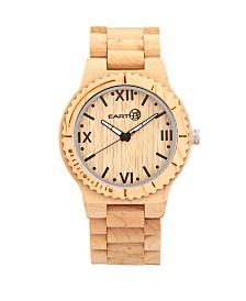 Earth Wood Bighorn Wood Bracelet Watch Khaki 46Mm