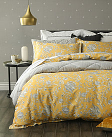 Simone 3 Pc Reversible Queen Duvet Set