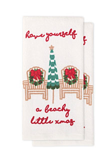 Arlee Christmas Breeze Kitchen Towels, Set of 2