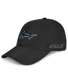 Attack Life by Greg Norman Men's Shark Embroidered Hat