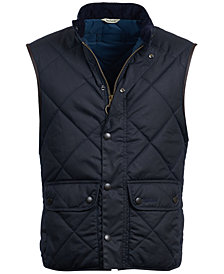Barbour Men's Waxed Lowerdale Gilet