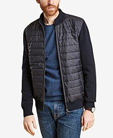Men's Carn Baffled Full-Zip Sweater