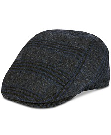 Levi's® Men's Plaid Flat Top Ivy Hat