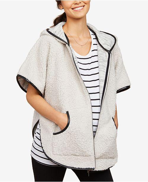 Motherhood Maternity Short-Sleeve Jacket