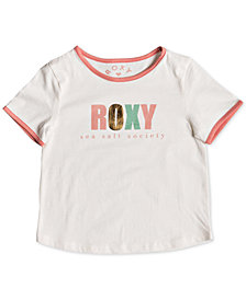 Roxy Toddler Girls Graphic-Print Cotton T-Shirt