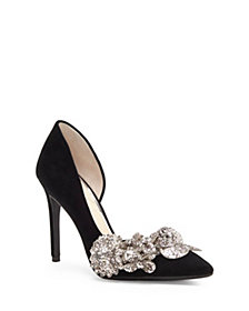 Jessica Simpson Pruella Embellished D'orsay Pumps