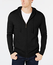 Club Room Men's Merino Hoodie, Created for Macy's