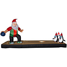National Tree AirblownSanta Bowling