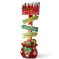 "National Tree 36"" Street Sign Decoration"