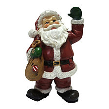 "National Tree Company 8"" Santa Holding a Bag"