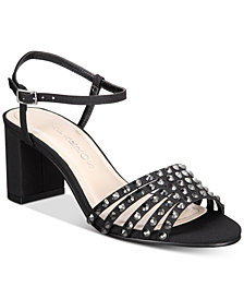 Caparros Plaza Embellished Evening Sandals