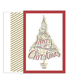 Masterpiece Studios Swirl Tree Boxed Holiday Cards