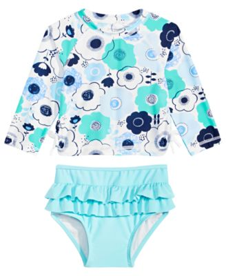 First Impressions Baby Girls Floral-Print