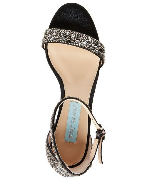 5241e5aefb1 Blue by Betsey Johnson Mari Heels   Reviews - Sandals   Flip Flops ...