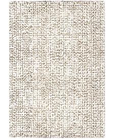 """Orian Cotton Tail Ditto White 6'7"""" x 9'8"""" Area Rug"""