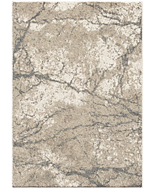 "Orian Carolina Wild Marquina Natural 6'7"" x 9'8"" Area Rug"