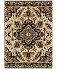 "Palmetto Living Next Generation Wada Off White 6'7"" x 9'8"" Area Rug"