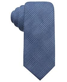 Tasso Elba Men's Plaid Tie, Created for Macy's